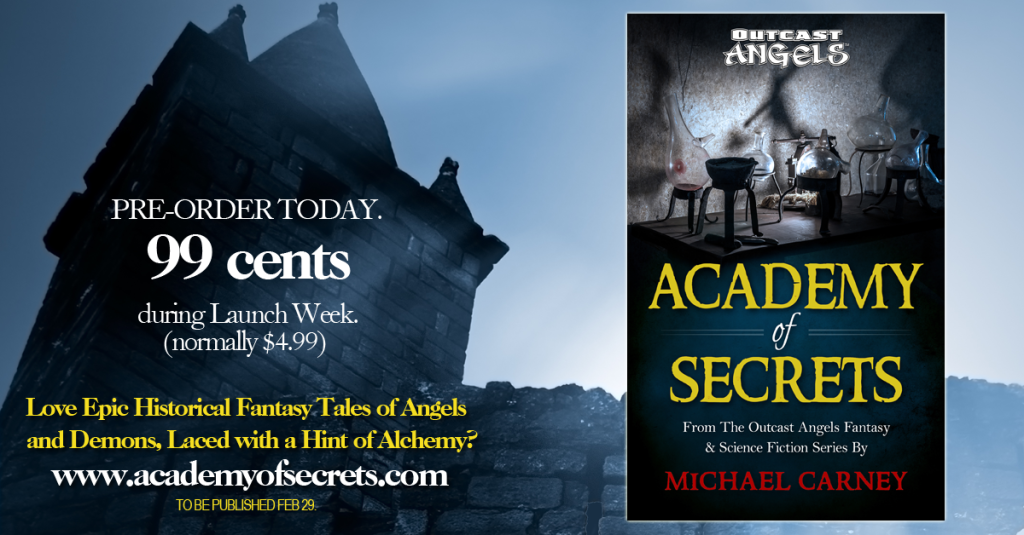 Academy of Secrets Launch Week Special 99 cents